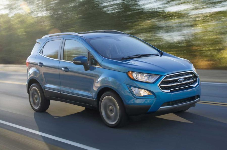 2017 ford ecosport previewed in all new us model autocar. Black Bedroom Furniture Sets. Home Design Ideas