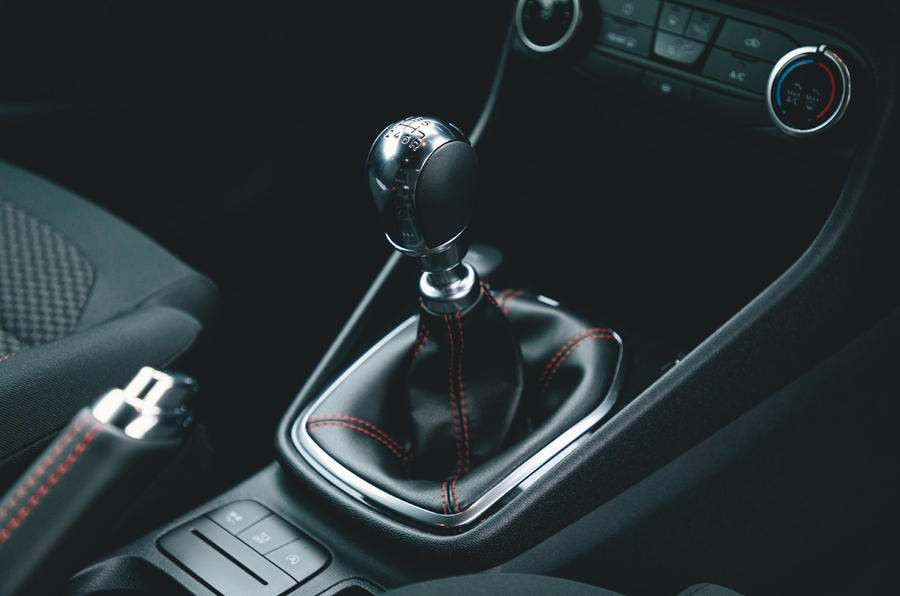 Britain's Best Car Awards 2020 - Ford Fiesta gearstick