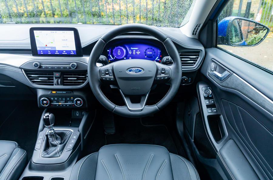 Ford Focus Active X Vignale MHEV 2020 - tableau de bord