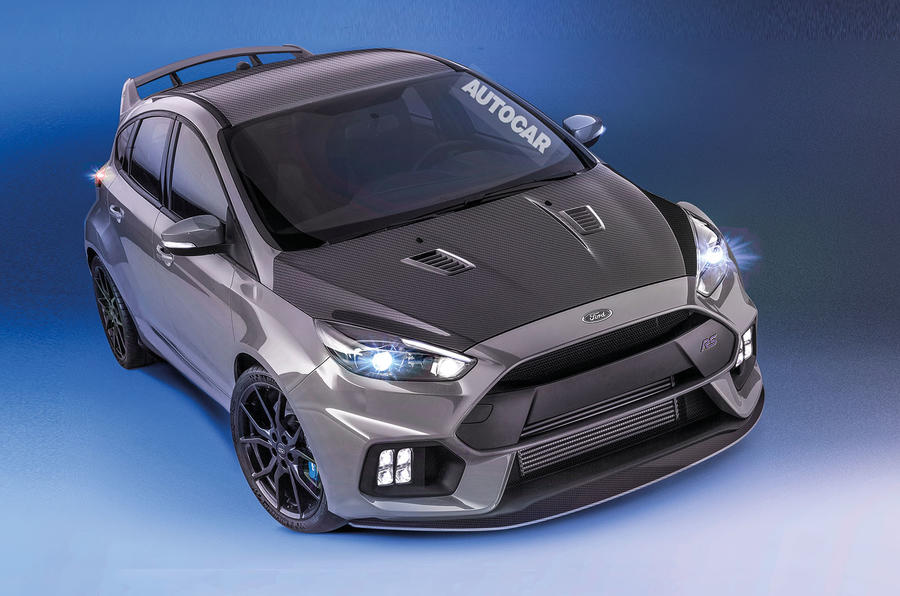 Ford Focus RS500 as imagined by Autocar