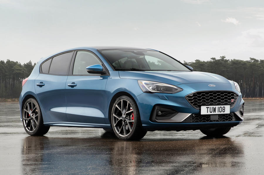 Ford unveils Focus ST with 206 kW and automatic gearbox