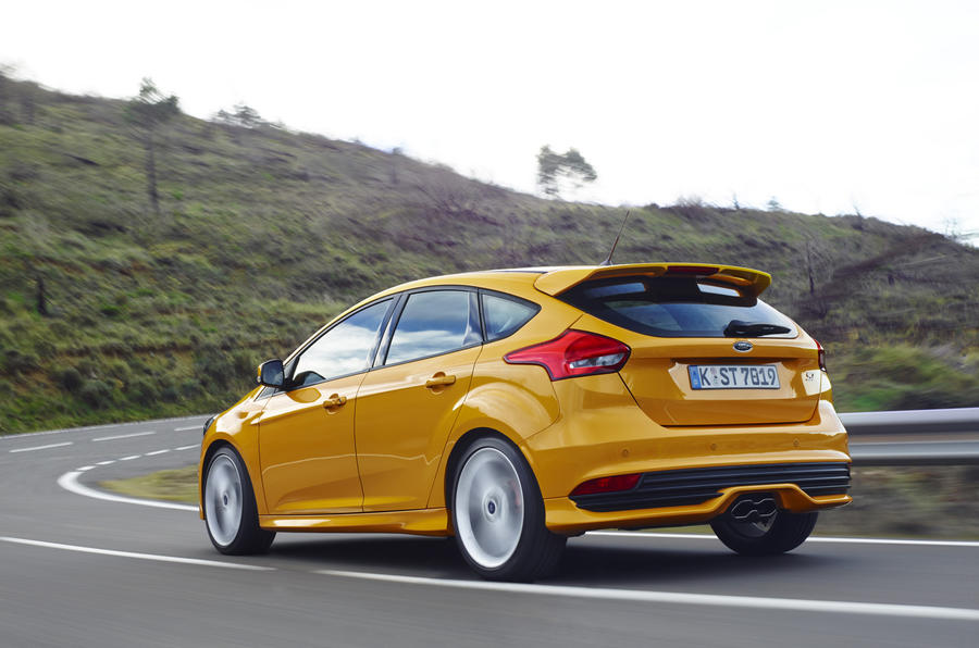 Facelifted Focus ST now comes in diesel as well as petrol form, and it ...