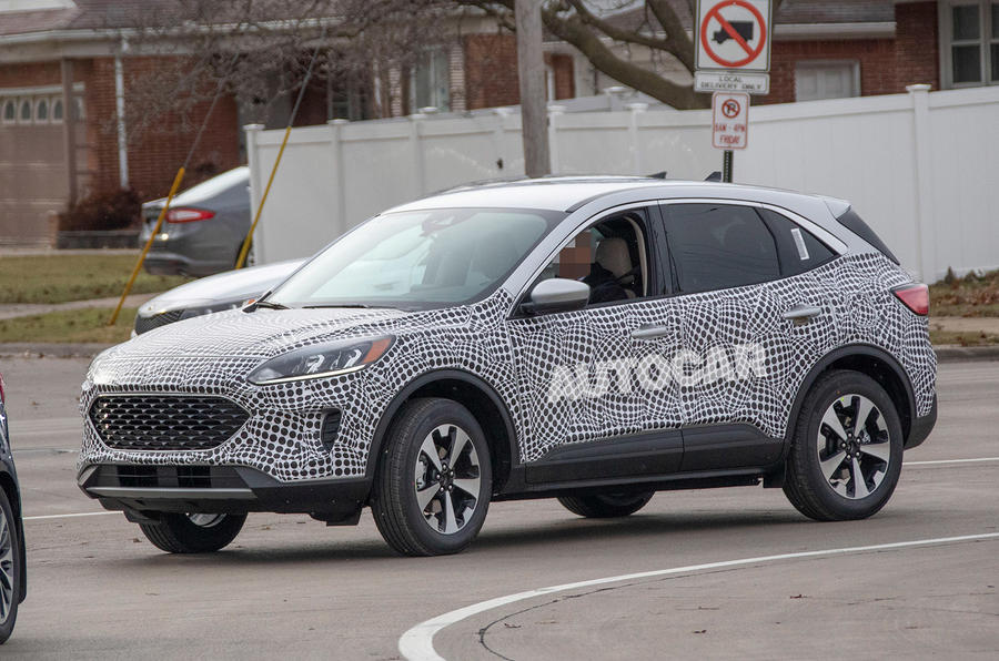 Ford Escape Hybrid Reviews >> New 2020 Ford Kuga to play big part in range restructure | Autocar
