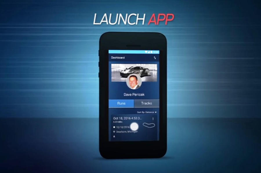 Ford shows off performance telemetry app