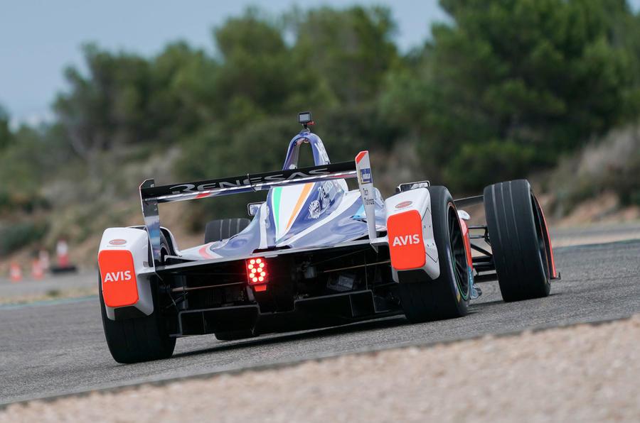 Pininfarina Battista customer preview event - track rear