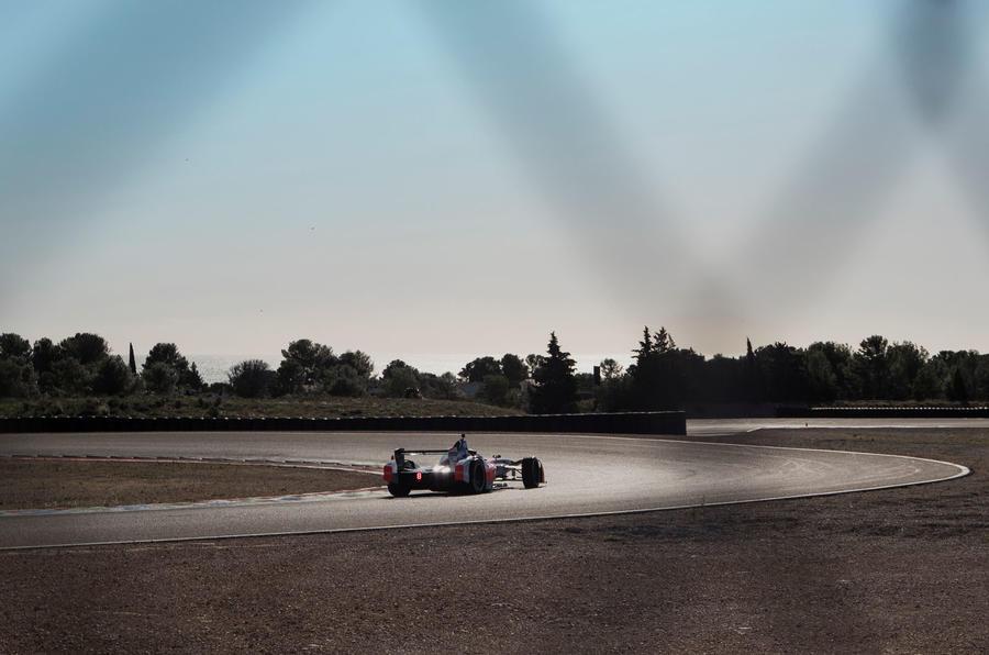 Pininfarina Battista customer preview event - on track