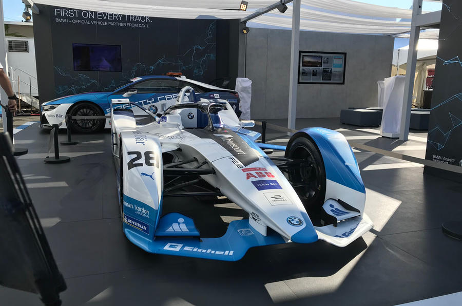 Formula E 2019 season decider in New York - Formula E car