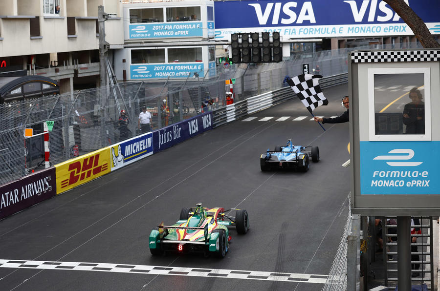 Buemi took win in Monaco Formula E race