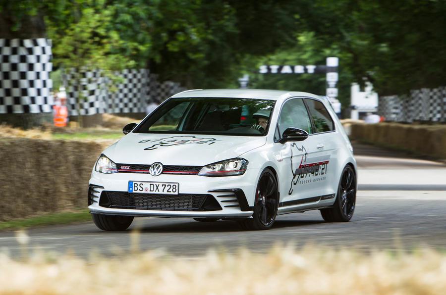 Volkswagen Golf GTI Clubsport S 2016 Goodwood Festival of Speed