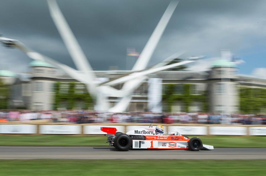 2016 Goodwood Festival of Speed McLaren F1 1977