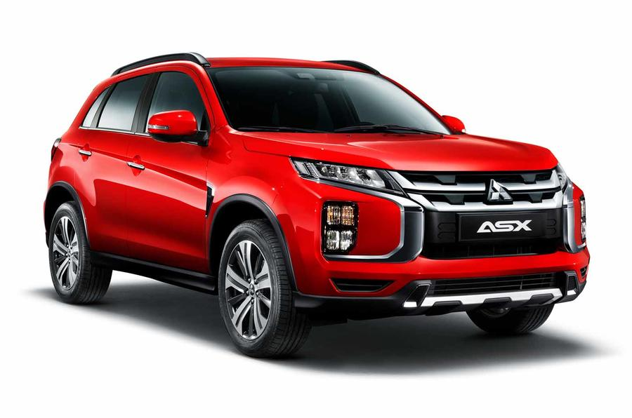 Mitsubishi ASX crossover updated for 2019