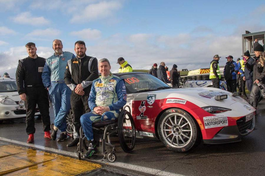 The Global Cup racing team