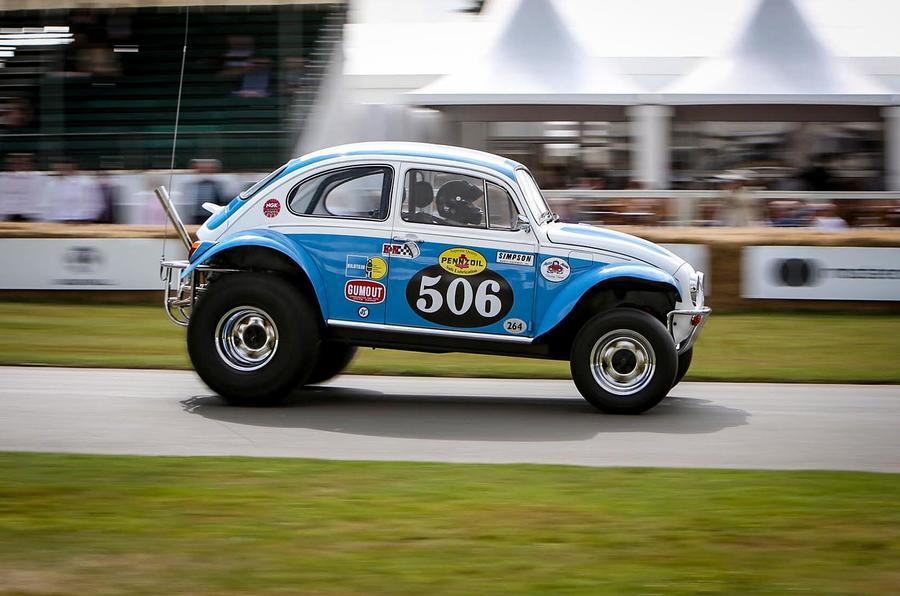 Tamiya Sand Scorcher life-size VW beetle