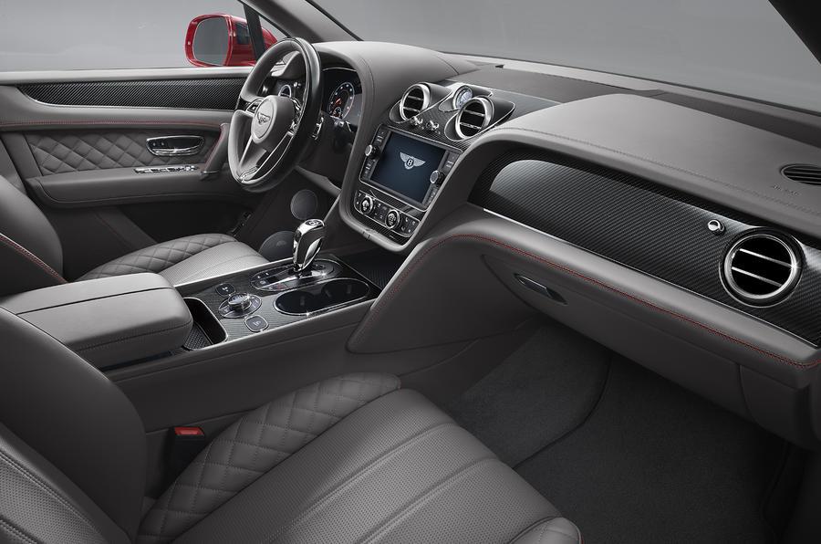 Bentley Bentayga V8 revealed with 542bhp