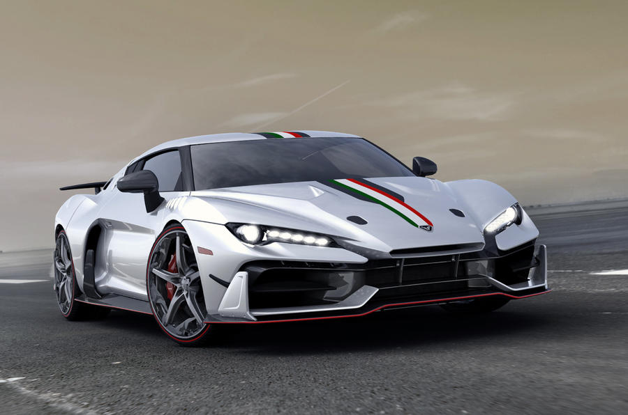 Italdesign V10 supercar