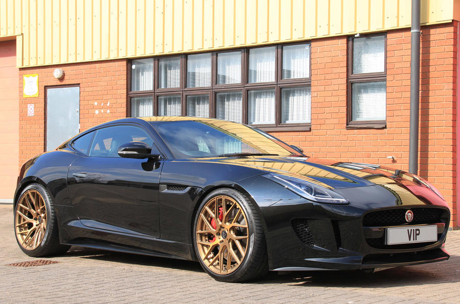 Jaguar F Type R With 650bhp Revealed By Tuning Company Vip