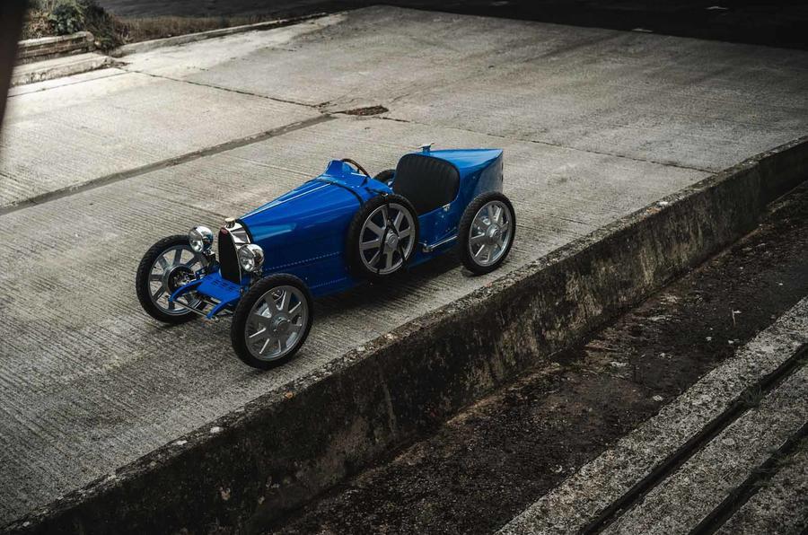Bugatti Baby II roof