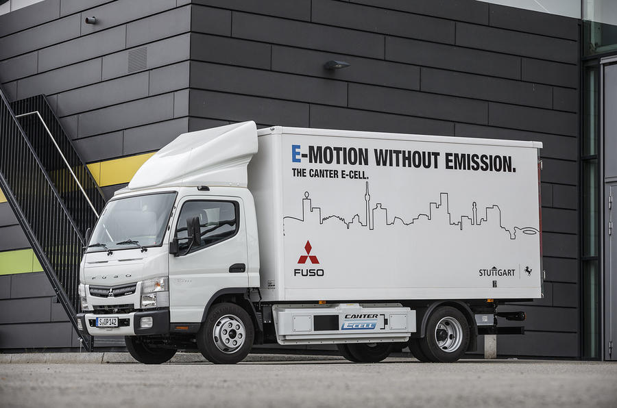How the Fuso Canter E-Cell electric truck could deliver the future