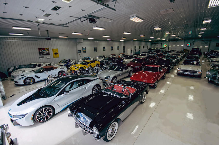 Michael Fux's car collection