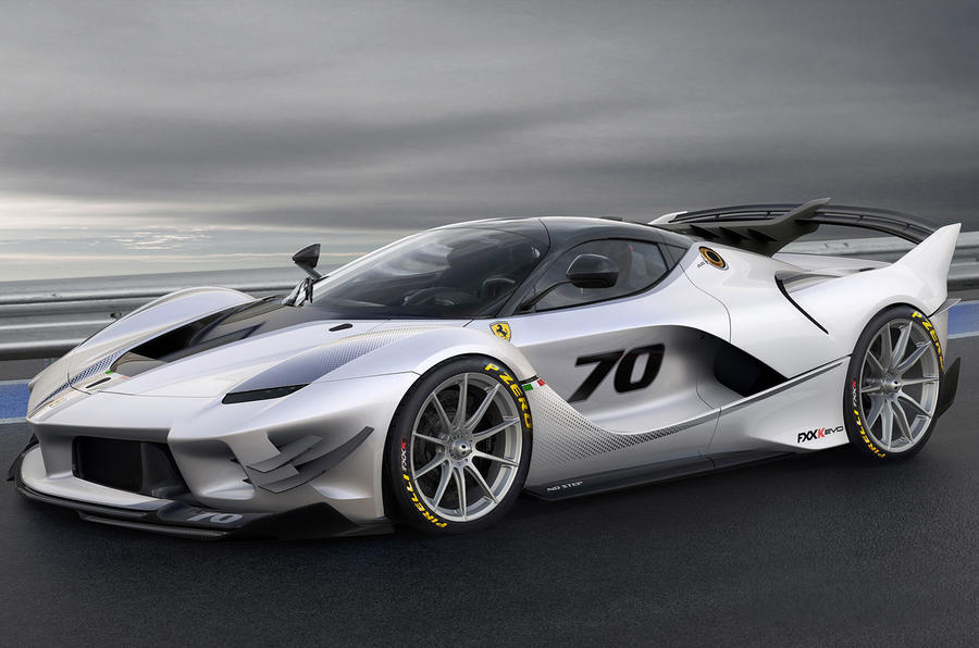 Ferrari FXX,K Evo revealed as improved hardcore flagship