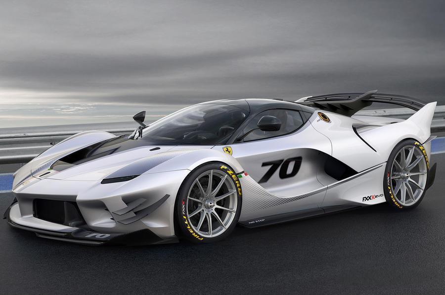 Ferrari FXX,K Evo revealed as improved hardcore flagship