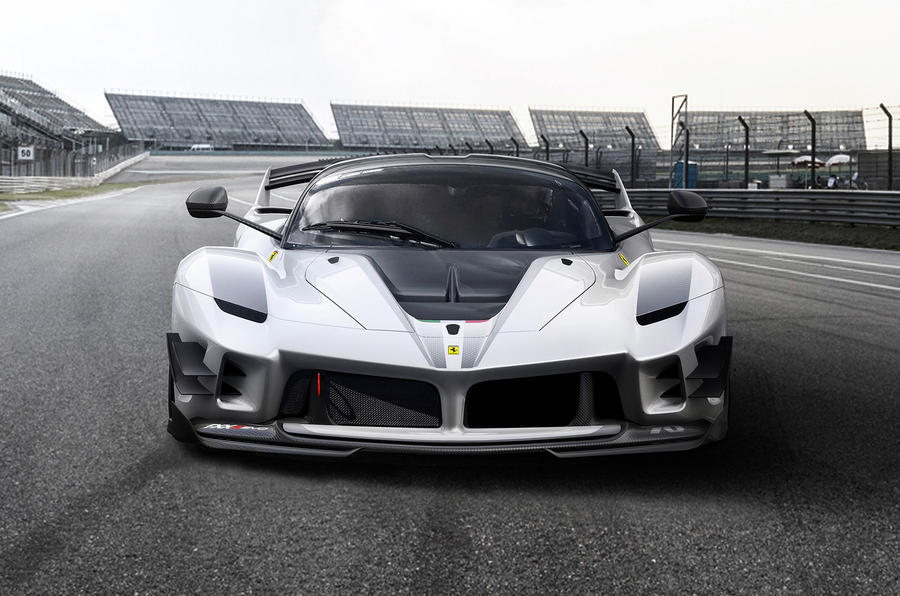 ferrari fxx k evo revealed as improved hardcore flagship autocar. Black Bedroom Furniture Sets. Home Design Ideas