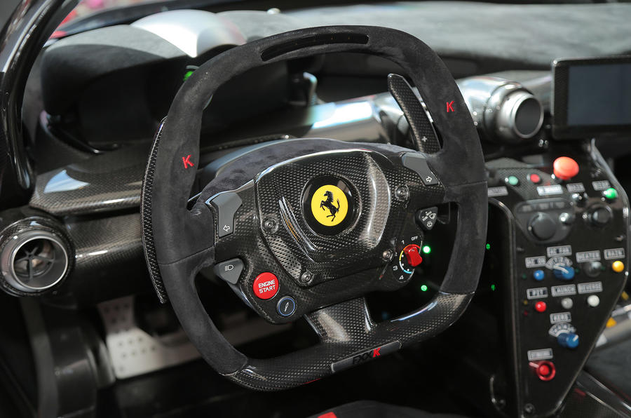 Ferrari Fxx K The View From The Passenger Seat Autocar