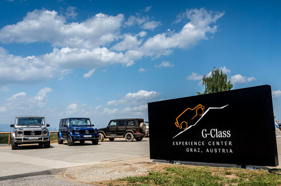 Mercedes G-Class Experience - static