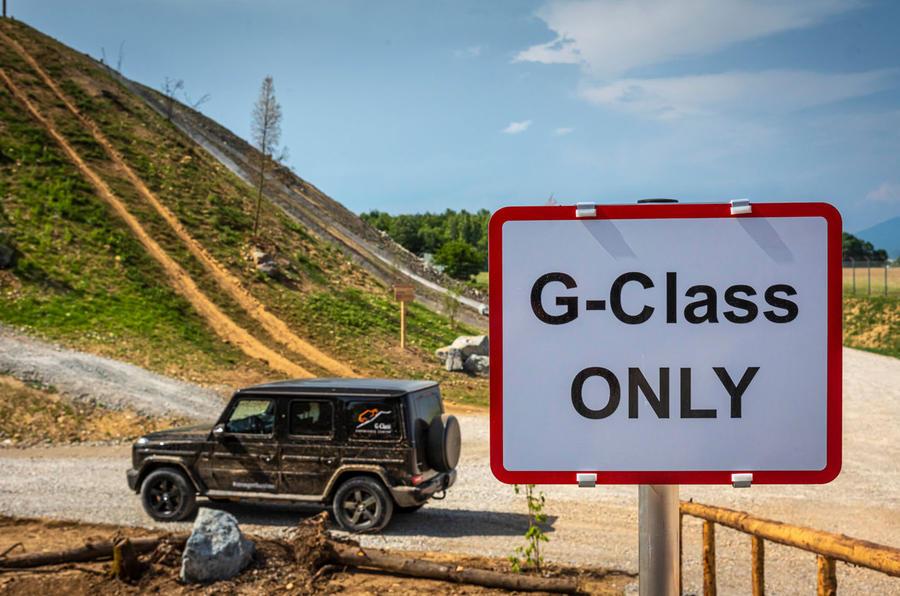 Mercedes G-Class Experience - G-Class ONLY