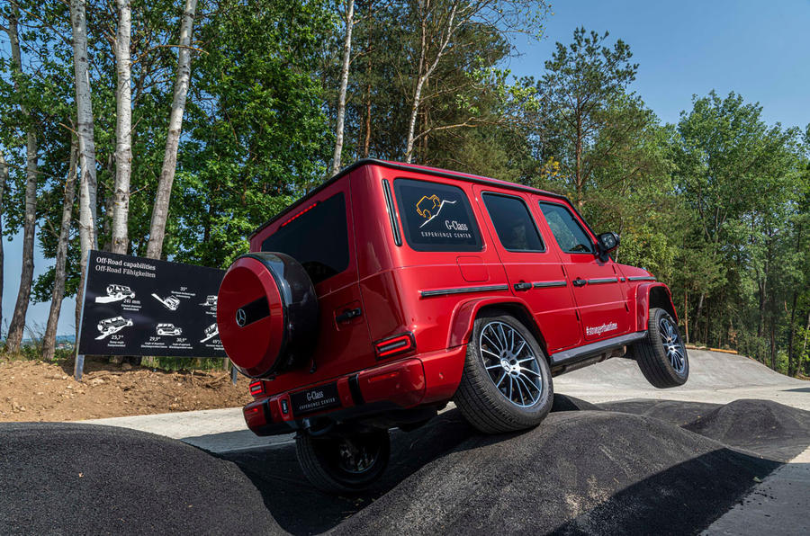 Mercedes G-Class Experience - two wheels
