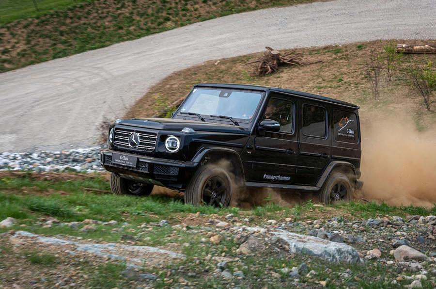 Mercedes G-Class Experience - dirt scramble