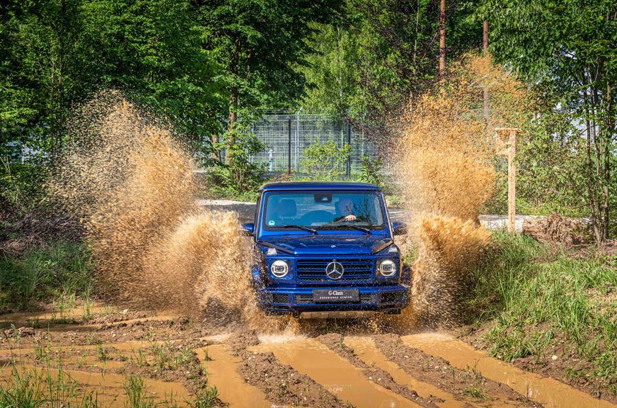Mercedes G-Class Experience - splash