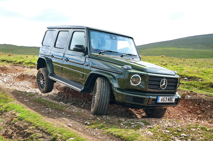 Top 10 off-roaders - Mercedes-Benz G-Class