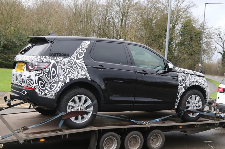 2018 Land Rover Discovery Sport facelift in development with hybrid option