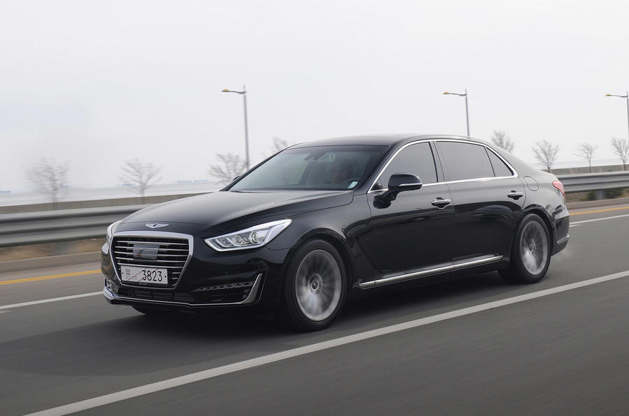 2016 genesis g90 review review autocar. Black Bedroom Furniture Sets. Home Design Ideas
