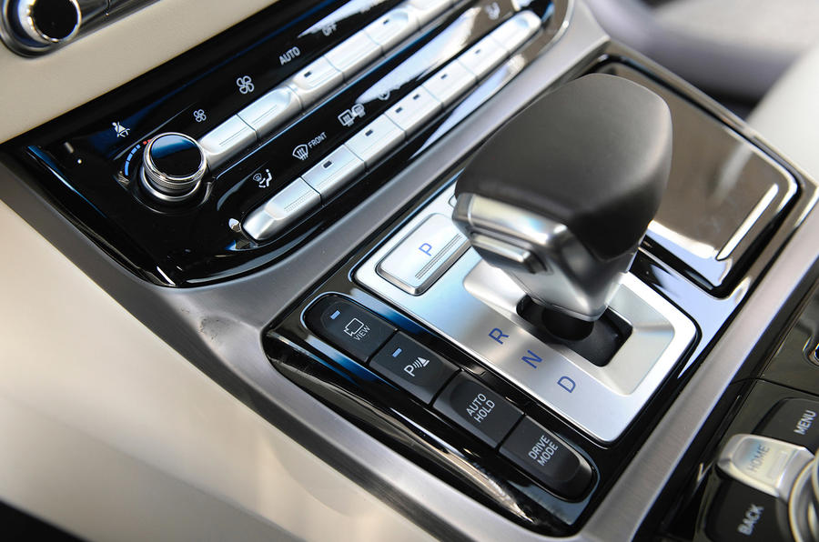 Genesis G90 automatic gearbox