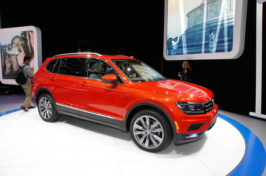 NAIAS: Volkswagen Tiguan long-wheelbase