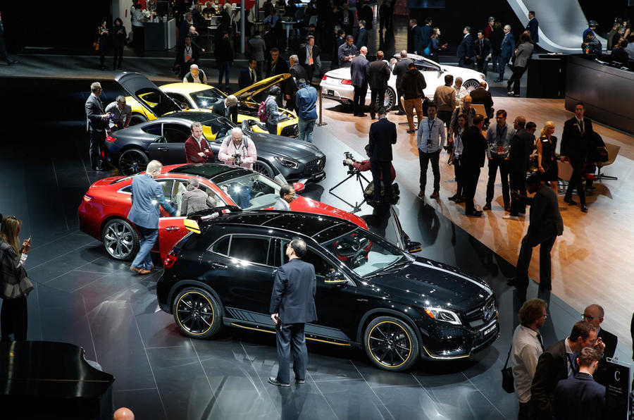 2017 detroit motor show show report and gallery autocar for What does a motor vehicle report show