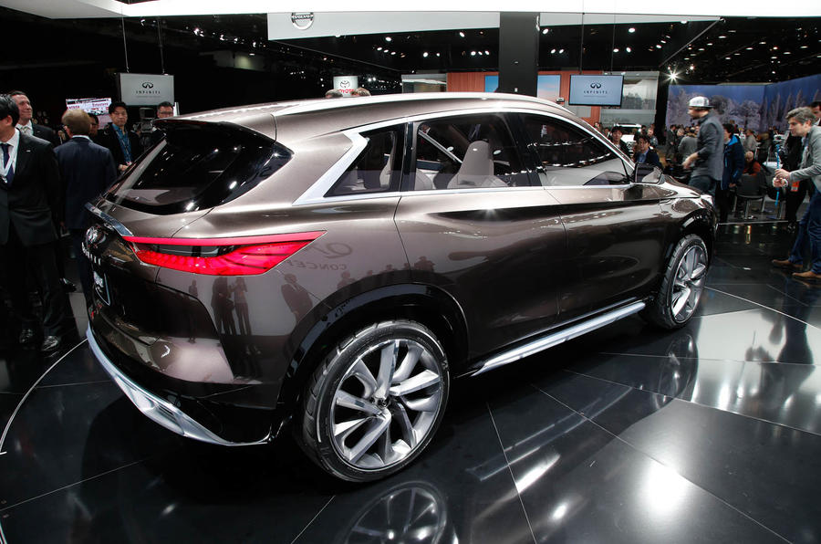 Infiniti Qx50 Edges Closer To Production With New Detroit