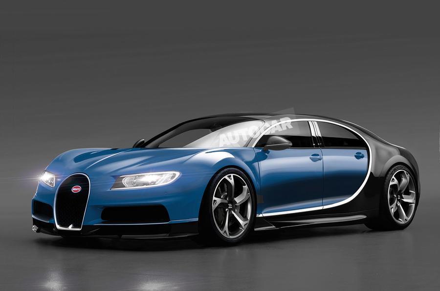 Autocar render of Bugatti Galibier