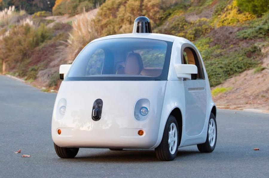 Google Waymo self-driving car