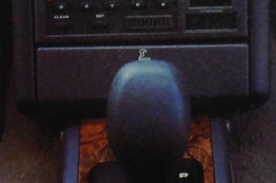 Rover 827 SLi gear selector