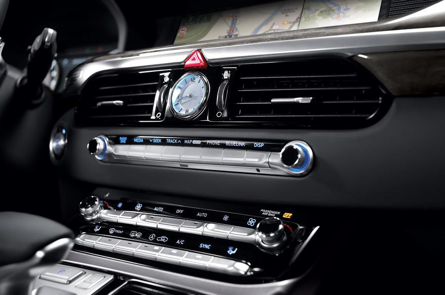 Hyundai Genesis G90 interior