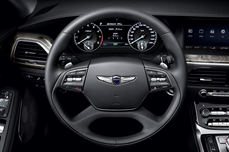 2016 Hyundai Genesis G90 - specs and pictures | Autocar