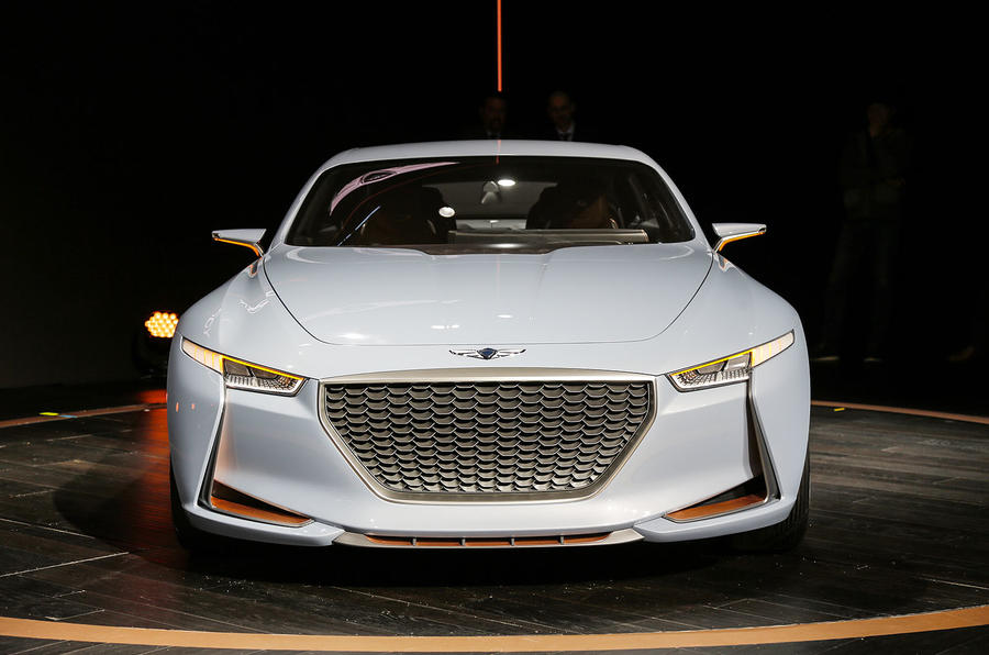 Genesis New York Concept Challenges Bmw 3 Series Autocar