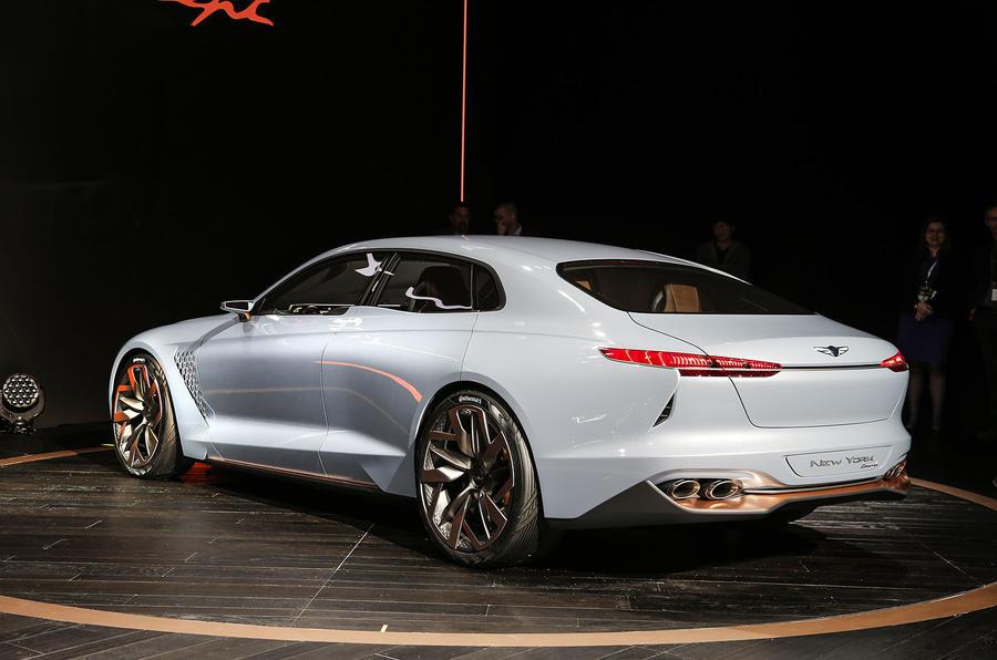 Genesis New York Concept Challenges Bmw 3 Series Autocar