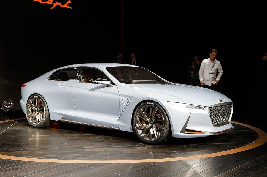 Brilliant Genesis New York Concept Challenges BMW 3Series  Autocar