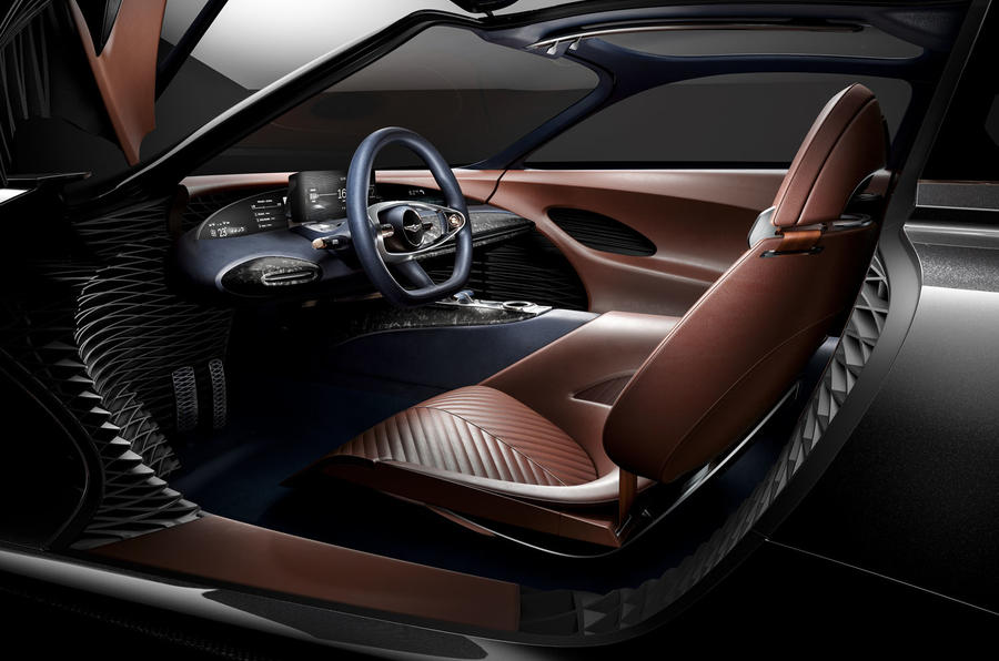 Genesis Essentia Concept Interior Image on How To Jump Start A Car Battery