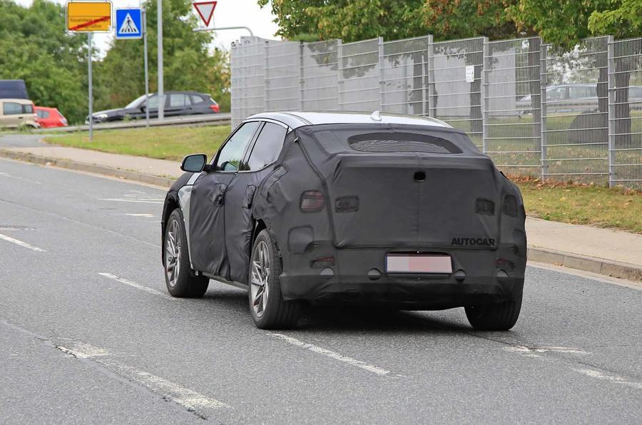 Genesis JW prototype spies rear