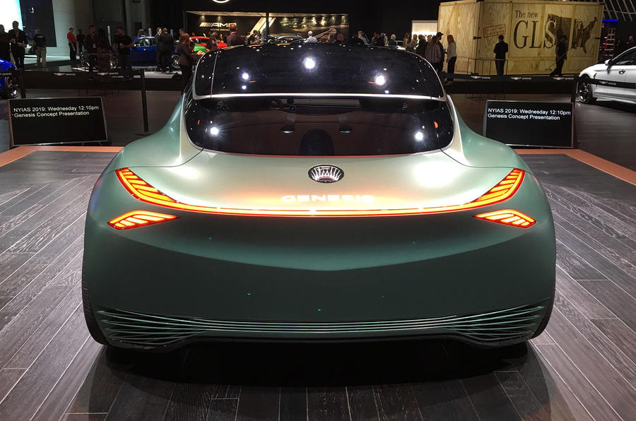 Genesis Mint concept - New York Motor show 2019 - back end